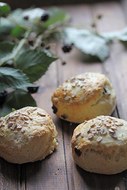 Recette de Scones ; petits pains britanniques (Cuisine anglaise) 1