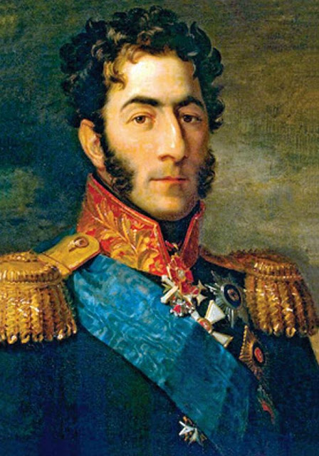 Mort du Prince Bagration à la bataille de la Moskova le 7 Septembre 1812 1