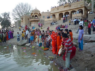 La fête de Gangaur à Jaisalmer en Inde 2
