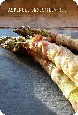 Trilogie d'asperges vertes croustillantes, en raviolis et en soupe 3