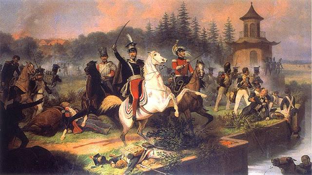 19 Octobre 1813 : mort du prince Józef Poniatowski à Leipzig 2