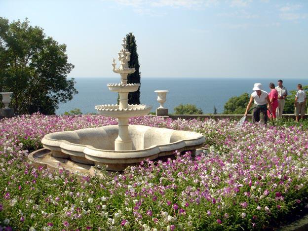 yalta palais vorontsov jardins