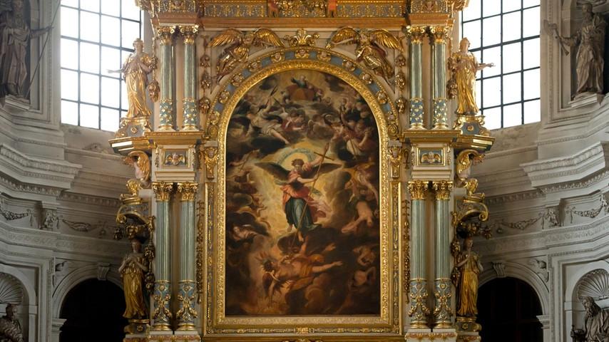 Hochalter St. Michael in München | Bild: picture-alliance/dpa