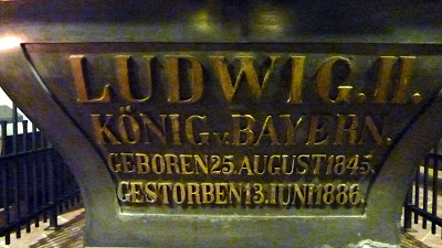 sarcophage louis II baviere eglise saint michel munich