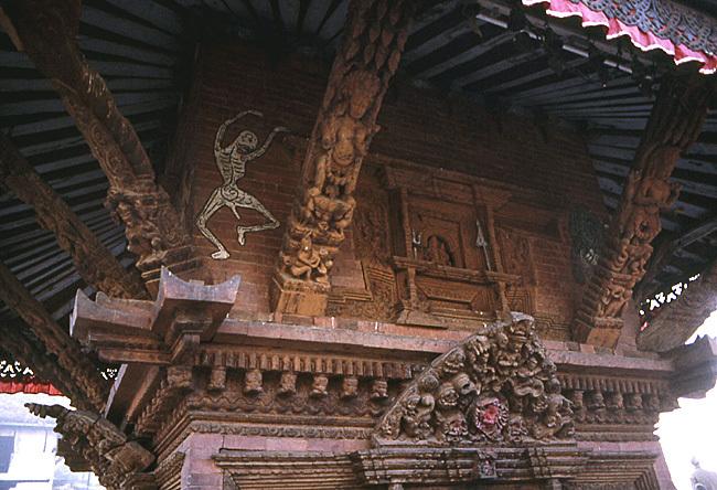 temple sculpte a bodnat nepal