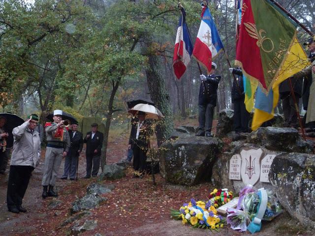 Hommage aux Légionnaires ukrainiens de Peynier 8