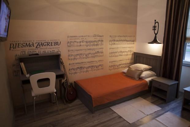 Studio Kairos à Zagreb ; loger chez l'habitant dans le centre historique de Zagreb 3