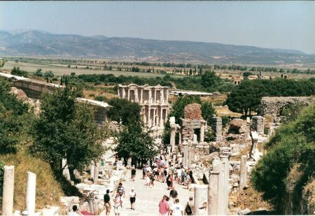 ruines ephese efes turquie