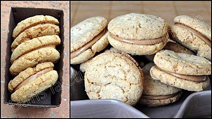 2d489 macaron cacahuete pate praline 2 Macarons à la cacahuète