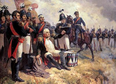Mort du Prince Bagration à la bataille de la Moskova le 7 Septembre 1812 2