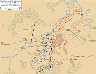 Mort du Prince Bagration à la bataille de la Moskova le 7 Septembre 1812 3