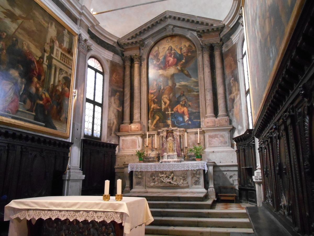 """""""La Vierge, l'enfant Jésus et les Saints"""" de Véronèse."""