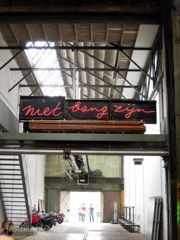 Amsterdam insolite et alternatif ; une zone industrielle abritant des ateliers d'artistes 4