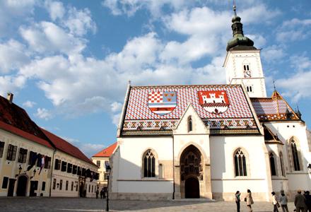 zagreb capitale de croatie