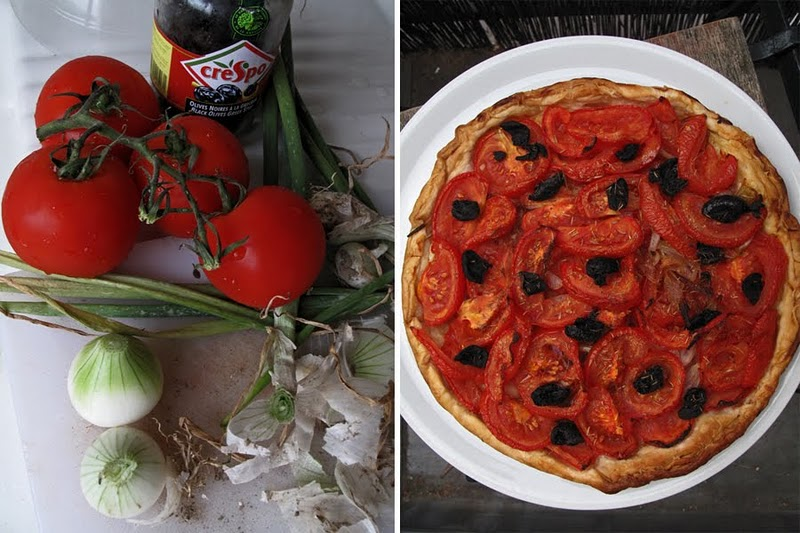 Tarte à la tomate et burrata : Recette italienne rapide et facile (Cuisine italienne) 2