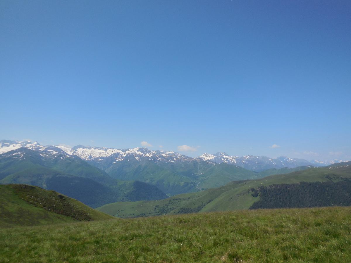 Vue vers le Pic du Midi de Bigorre...
