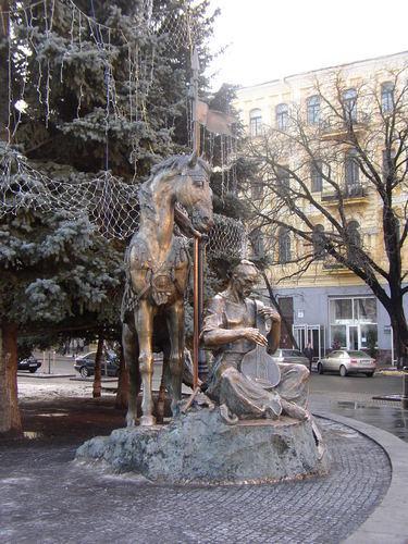 Histoire de l'Ukraine - Le Cosaque Mamay ; héros folklorique ukrainien 1