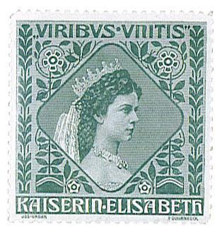 Sissi imperatrice d'autriche timbre philatelie