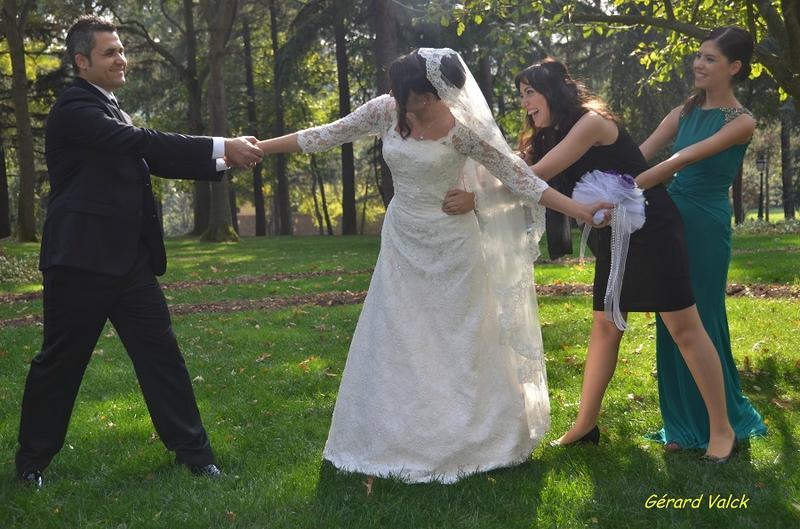 mariage istanbul mariée