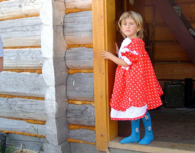 galina 7 ans ukrainienne