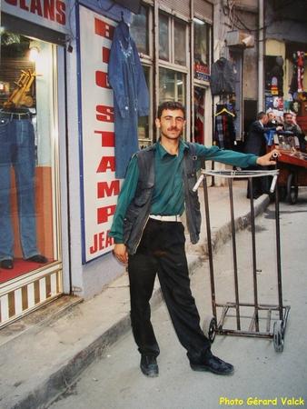 Porteur à Laleli istanbul