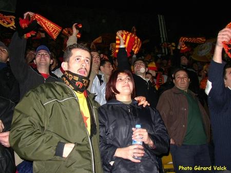 Soir de match au stade de Galatasaray