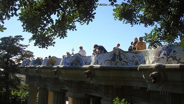 Parc Güell en photos ; promenade au pays des merveilles (Barcelone tourisme) 8