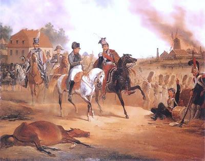 19 Octobre 1813 : mort du prince Józef Poniatowski à Leipzig 1