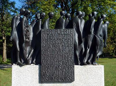 """Munich Obermenzing - Mémorial aux victimes de """"la marche de la mort"""" des prisonniers de Dachau 1"""