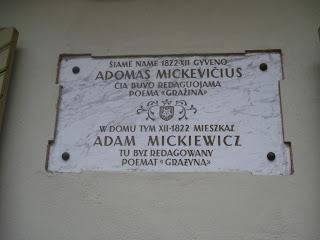 Adam Mickiewicz, né le 24 Décembre 1798 2