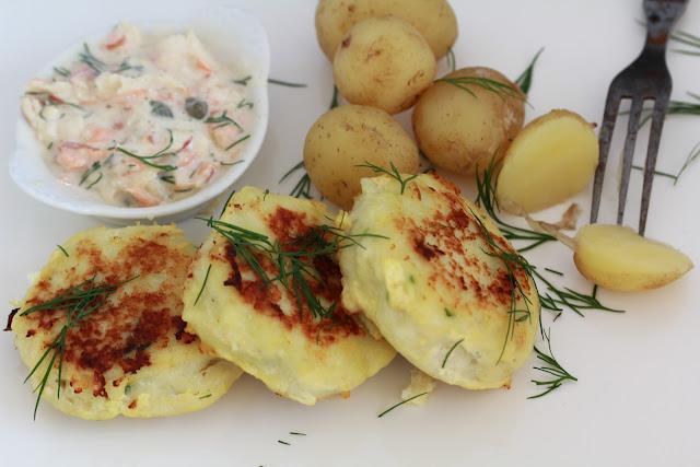 Fiskefrikadeller ; recette danoise de croquettes de cabillaud (Cuisine Danemark) 2