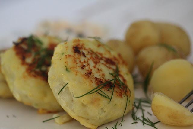 Fiskefrikadeller ; recette danoise de croquettes de cabillaud (Cuisine Danemark) 3