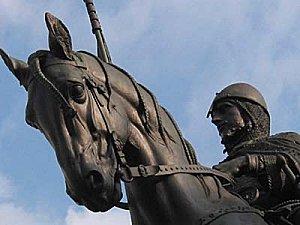 statue saint venceslas prague
