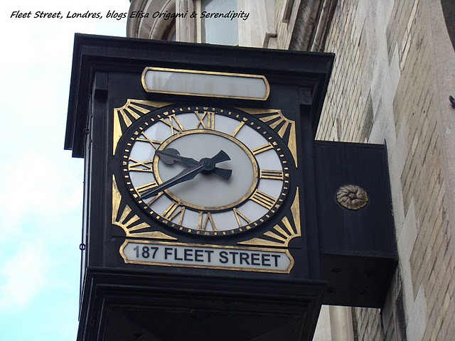 Fleet street london rue de londres