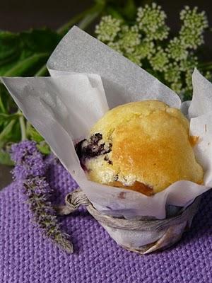 Mini muffins aux myrtilles et chocolat blanc 1