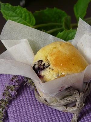 Mini muffins aux myrtilles et chocolat blanc 2