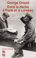 Dans la dèche à Paris et à Londres de George Orwell 1