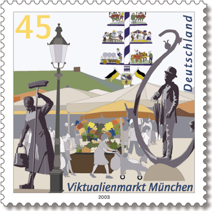 Datei:Stamp Germany 2003 MiNr2356 Viktualienmarkt.jpg