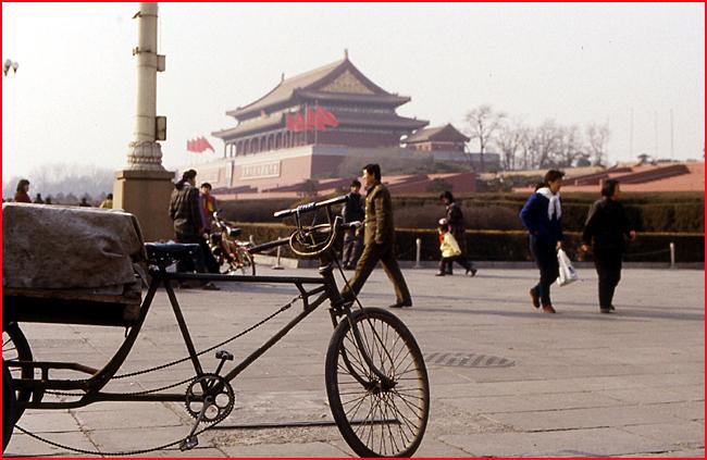 Pekin place Tien an Men 1993