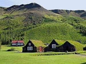islande vieux village