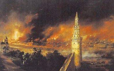 14 Septembre 1812 : la Grande Armée entre dans Moscou 6