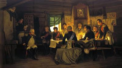 14 Septembre 1812 : la Grande Armée entre dans Moscou 1