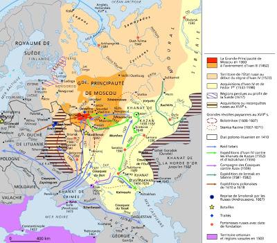 Histoire russe: Michel Romanov, élu Tsar de Russie Michel 1er (21 Février 1613) 1