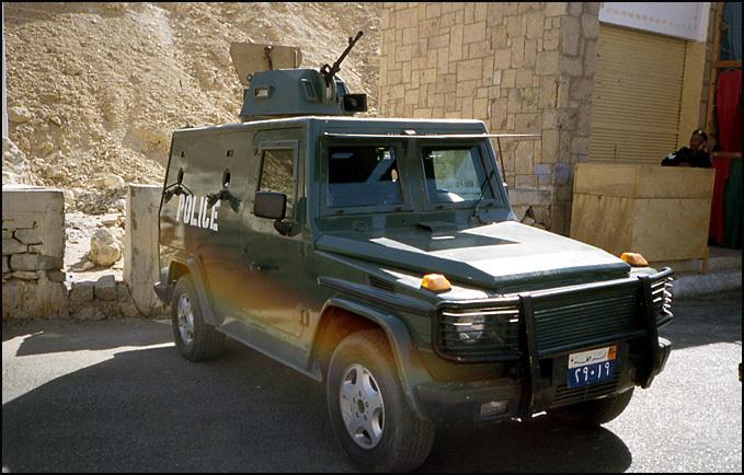 voiture de flics egypte