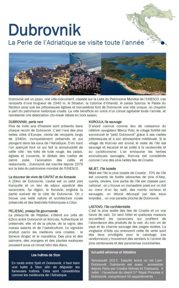 dubrovnik guide voyage croatie