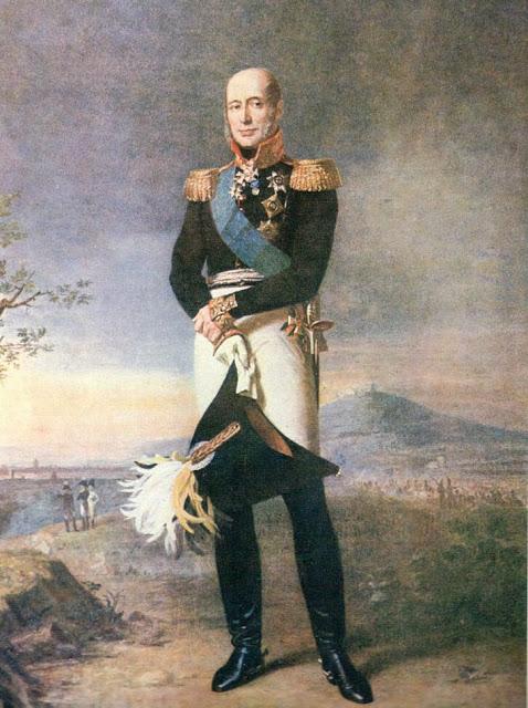 Le Feld-maréchal Michael Bogdanovitch, Prince Barclay de Tolly, né le 24 Décembre 1761 1