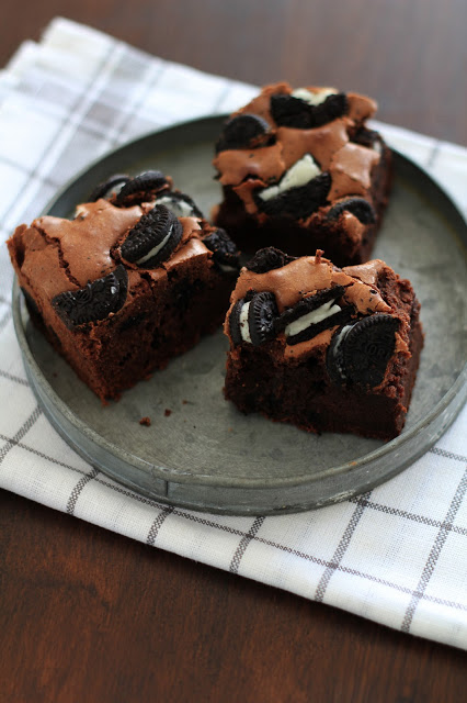Oreo brownies , une variante irrésitible du brownie 3