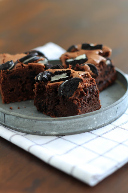 Oreo brownies , une variante irrésitible du brownie 1