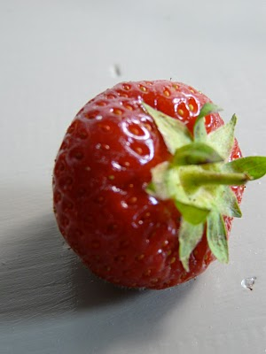 Soupe de fraises au koldskål
