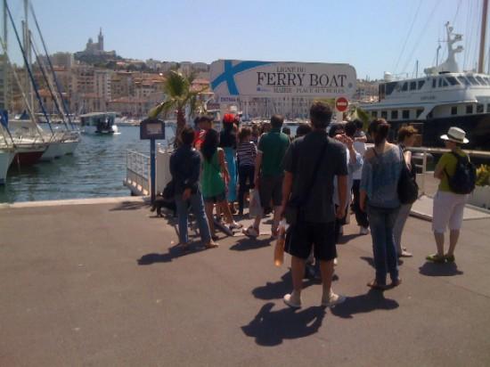 Marseille : Pénélope Cruz est dans la rue ! 1